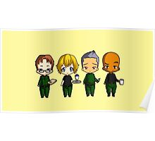 Chibi Stargate - Original Team Seasons 1-5 Poster