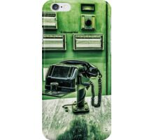 phone in control room iPhone Case/Skin