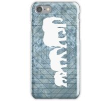 Walking With Elephants iPhone Case/Skin