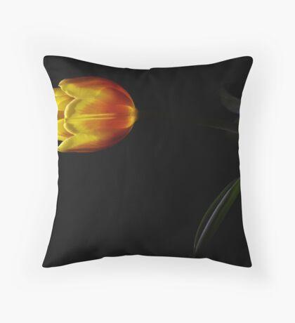 Light of the Tulip Throw Pillow