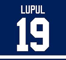 Toronto Maple Leafs Joffrey Lupul Jersey Back Phone Case by Russ Jericho
