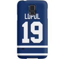 Toronto Maple Leafs Joffrey Lupul Jersey Back Phone Case Samsung Galaxy Case/Skin