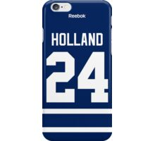 Toronto Maple Leafs Peter Holland Jersey Back Phone Case iPhone Case/Skin