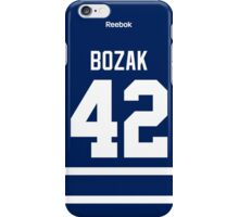 Toronto Maple Leafs Tyler Bozak Jersey Back Phone Case iPhone Case/Skin