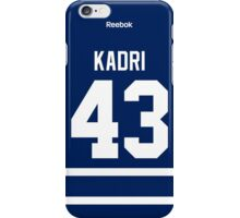 Toronto Maple Leafs Nazim Kadri Jersey Back Phone Case iPhone Case/Skin