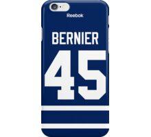 Toronto Maple Leafs Jonathan Bernier Jersey Back Phone Case iPhone Case/Skin