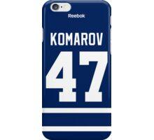 Toronto Maple Leafs Leo Komarov Jersey Back Phone Case iPhone Case/Skin