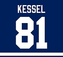 Toronto Maple Leafs Phil Kessel Jersey Back Phone Case by Russ Jericho