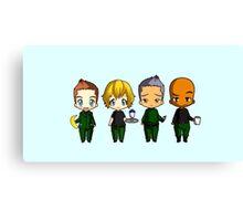 Chibi Stargate - Season 6 Team Canvas Print