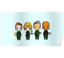 Chibi Stargate - Season 6 Team Poster
