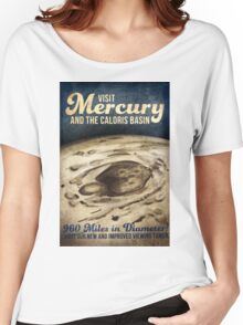 Mercury Space Vintage Retro Women's Relaxed Fit T-Shirt
