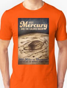 Mercury Space Vintage Retro Unisex T-Shirt