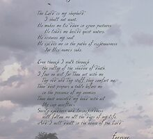 23rd Psalm by back40fotos