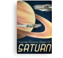 Visit the Historical Rings of Saturn Art Canvas Print