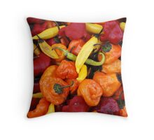 Market - Party Peppers Throw Pillow