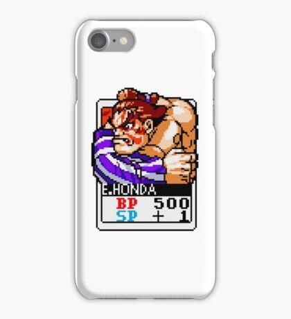 E. Honda - Street Fighter iPhone Case/Skin