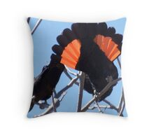 BOMBER Throw Pillow