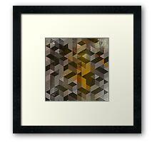 Patron marron Framed Print