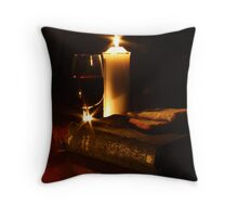 Outward signs of an inward reality Throw Pillow