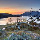Derwent Water from Gouder Crag by Rich Gale