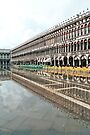 Reflections in S.Marco Square  by paolo1955