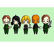 Chibi Stargate - Season 10 Team Photographic Print