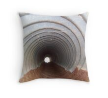 The Downward Spiral Throw Pillow