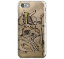 Figure sur la plage 6 iPhone Case/Skin