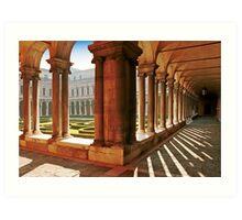Venezia  - S.Giorgio Maggiore - Internal Cloister Art Print