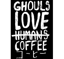 Ghouls love coffee Photographic Print