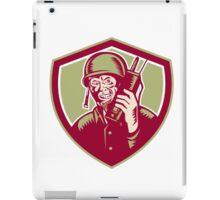 World War Two Soldier American Talk Radio Crest iPad Case/Skin
