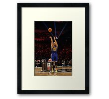 Stephen Curry - The MVP Framed Print