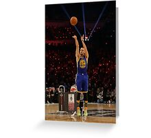 Stephen Curry - The MVP Greeting Card