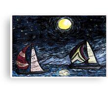 Sail Away Canvas Print