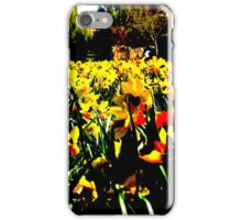 Posterized Plants iPhone Case/Skin