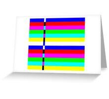system breakdown Greeting Card