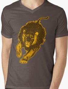 Lion, lion T-Shirts by Cheerful Madness!! Mens V-Neck T-Shirt