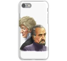 The Doctor and the Master iPhone Case/Skin
