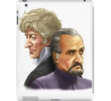 The Doctor and the Master iPad Case/Skin