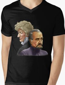 The Doctor and the Master Mens V-Neck T-Shirt