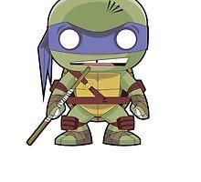 TMNT - Donatello Funko Pop by averagejoeart
