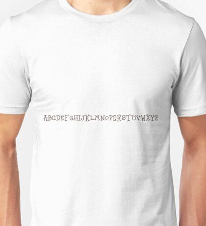 Abc..  Unisex T-Shirt