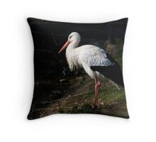 Stork # Throw Pillow