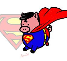 Superpig! by mistina