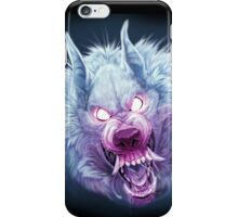 Red and Blue Wuff iPhone Case/Skin