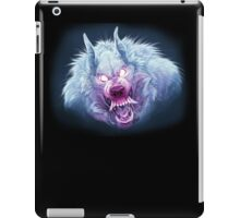Red and Blue Wuff iPad Case/Skin