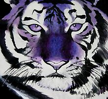 Purple Tiger by Sarah Mokrzycki