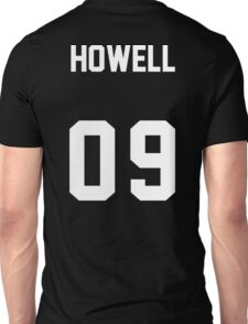 danisnotonfire Jersey (white on black) Unisex T-Shirt