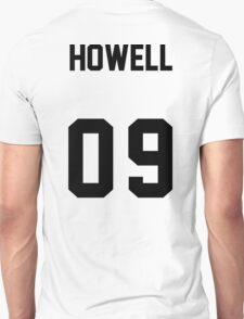 danisnotonfire Jersey (black on white) T-Shirt