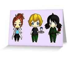 Chibi Stargate - Girl Power Lineup Greeting Card